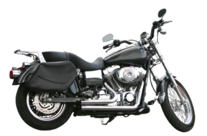 Classic Black Motorcyle