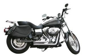 Classic Black Motorcyle